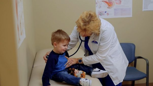 Child at Doctor